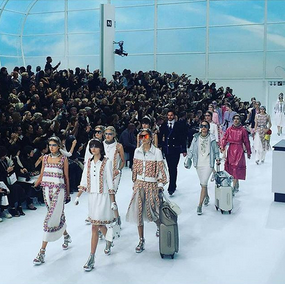 Chanel Airlines весна-лето 2016 #ChanelAirlines