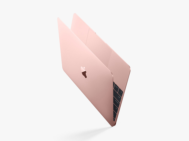 Apple представил MacBook Rose Gold