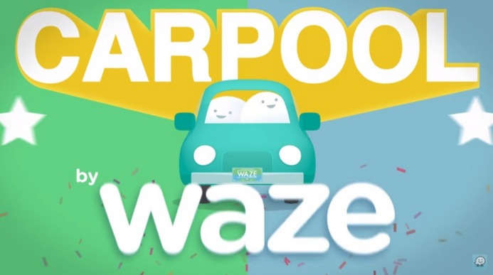 Такси Carpool Waze