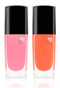 Lancome Limited-Edition Le Vernis in Cosmopolitan Pink & Tangerine Tint