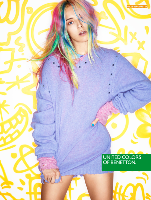 Новая рекламная кампания United Colors of Benetton осень-зима 2013
