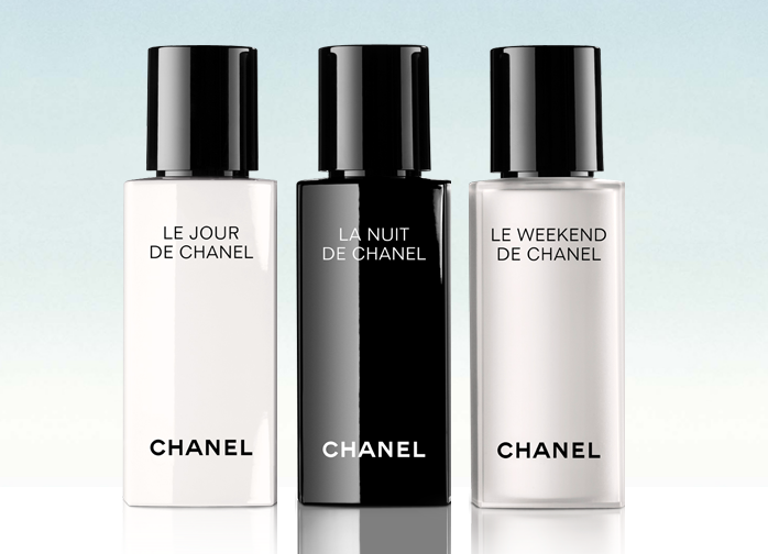 Chanel Le Jour, La Nuit, Le Weekend