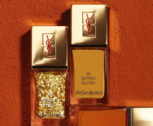 Новые лаки Yves Saint Laurent Spicy